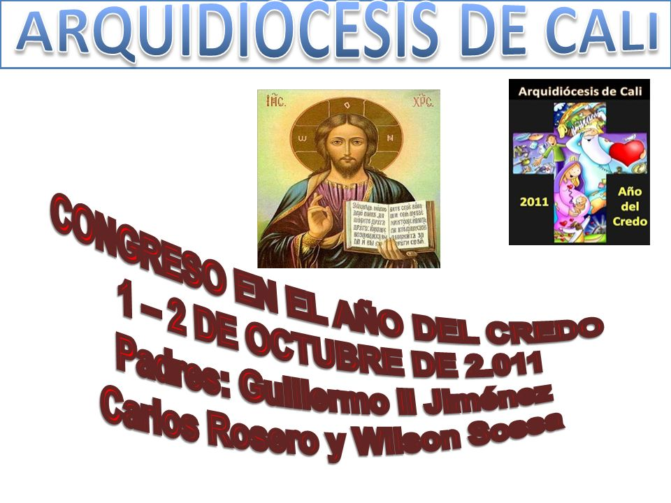 CONGRESO EN EL AÑO DEL CREDO 1 – 2 DE OCTUBRE DE 2.011