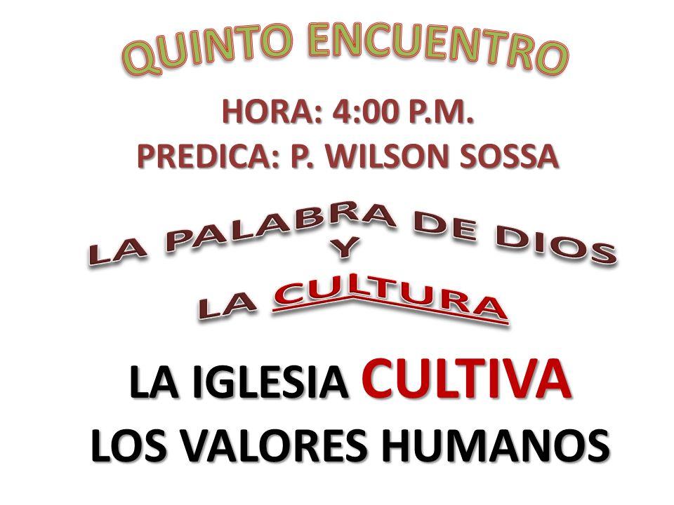 PREDICA: P. WILSON SOSSA