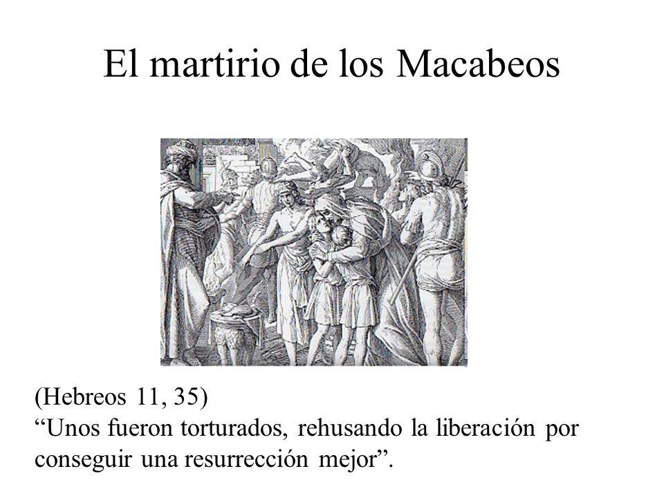 El martirio de los Macabeos