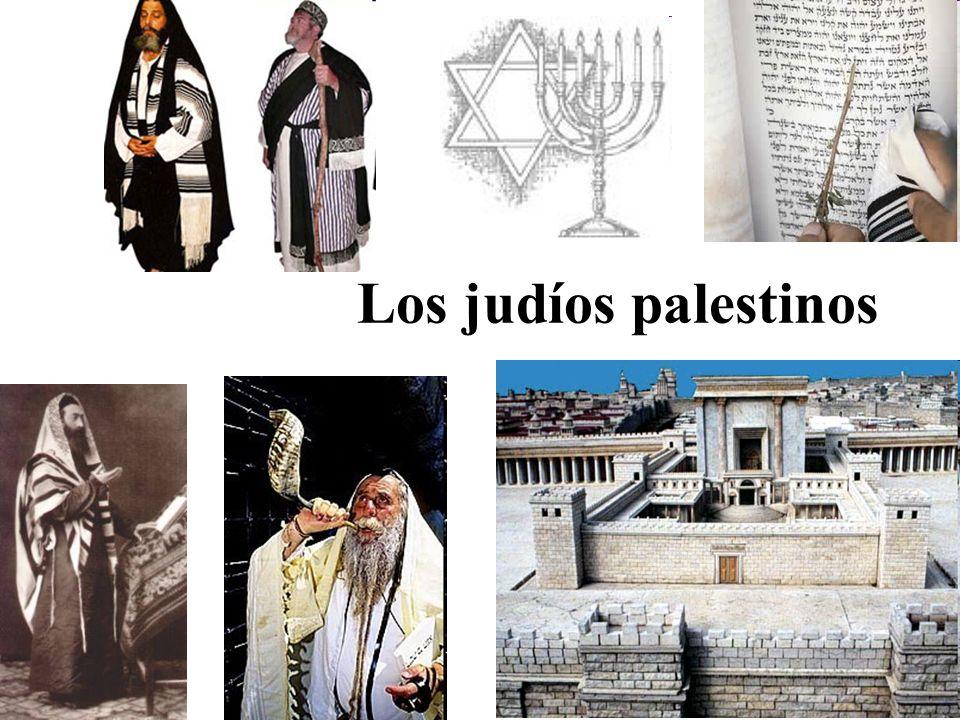 Los judíos palestinos