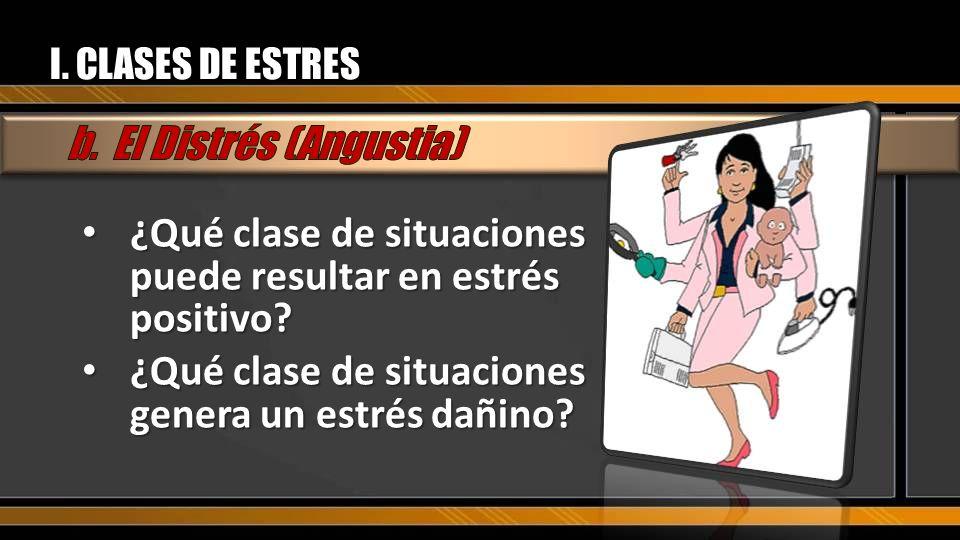 b. El Distrés (Angustia)