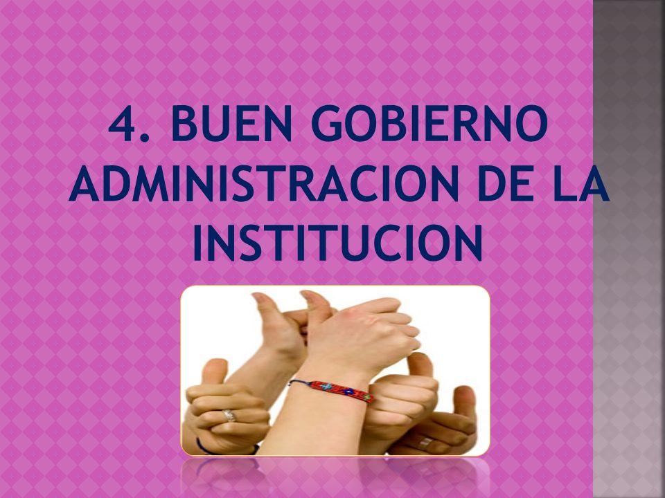 4. BUEN GOBIERNO ADMINISTRACION DE LA INSTITUCION