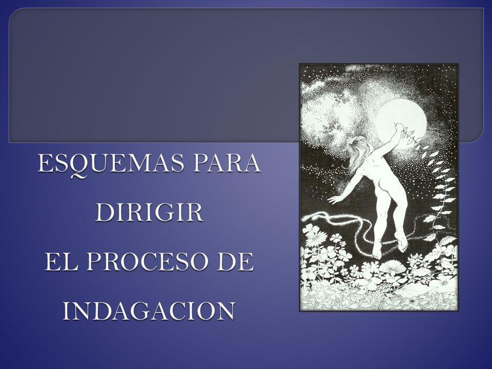 ESQUEMAS PARA DIRIGIR EL PROCESO DE INDAGACION