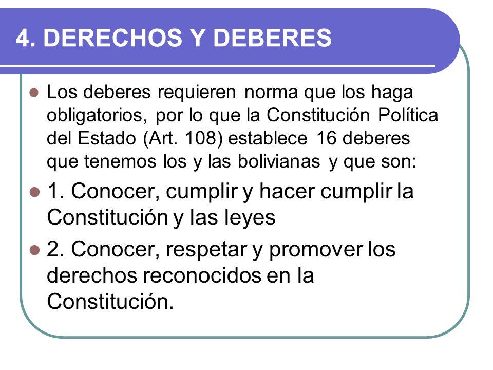 4. DERECHOS Y DEBERES