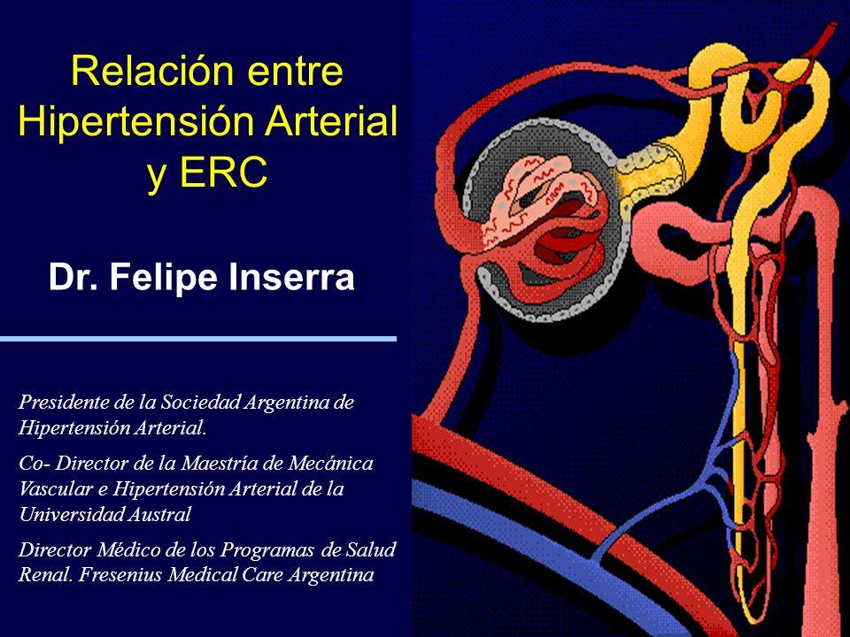 Relación entre Hipertensión Arterial y ERC