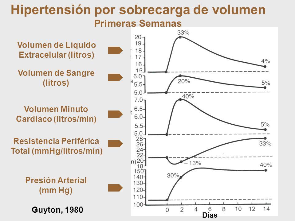 Hipertensión por sobrecarga de volumen