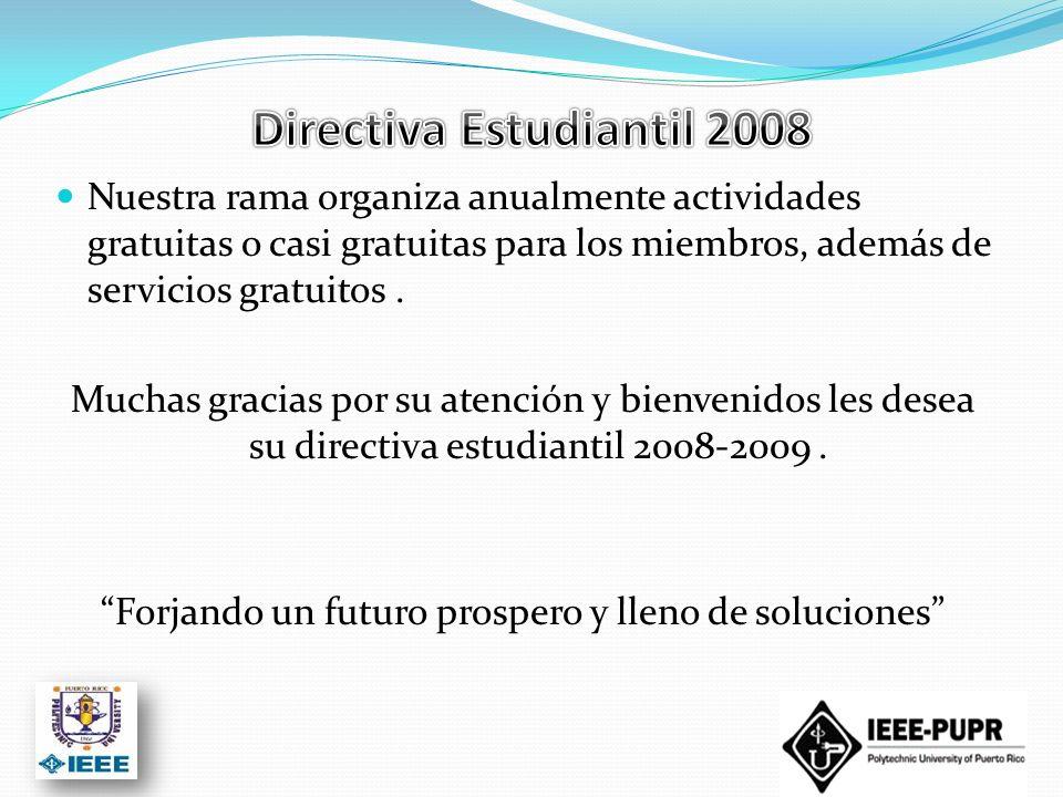 Directiva Estudiantil 2008