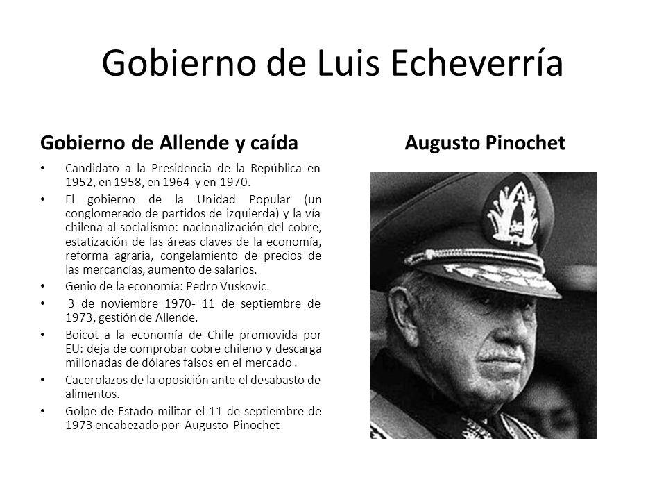 Gobierno de Luis Echeverría