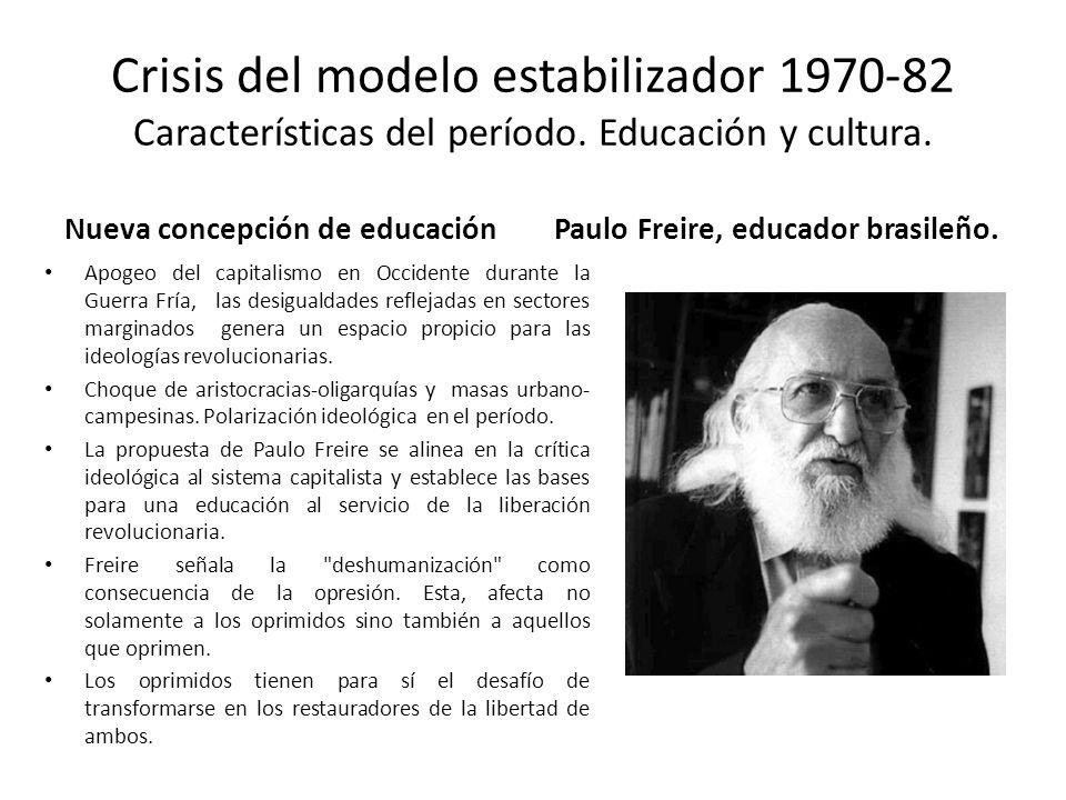 Paulo Freire, educador brasileño.