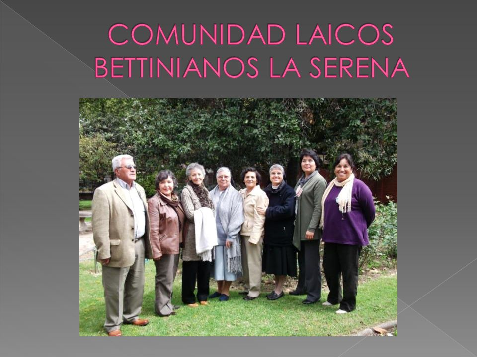 COMUNIDAD LAICOS BETTINIANOS LA SERENA