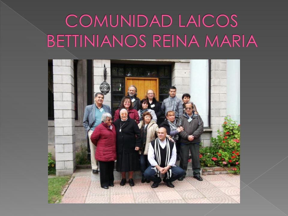 COMUNIDAD LAICOS BETTINIANOS REINA MARIA