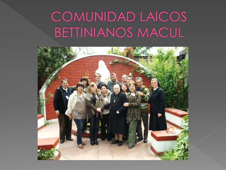 COMUNIDAD LAICOS BETTINIANOS MACUL