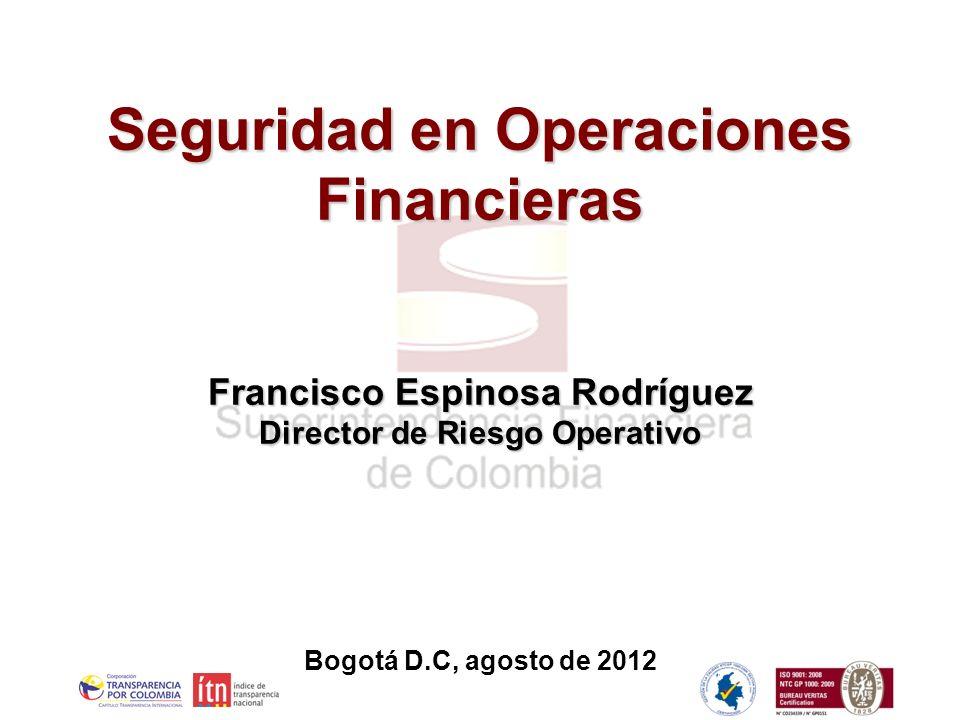 Seguridad en Operaciones Financieras