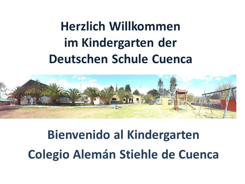 Herzlich Willkommen im Kindergarten der Deutschen Schule Cuenca