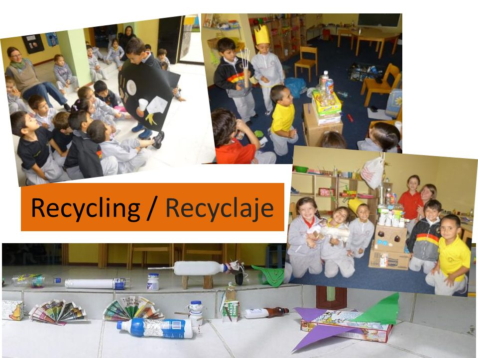 Recycling / Recyclaje
