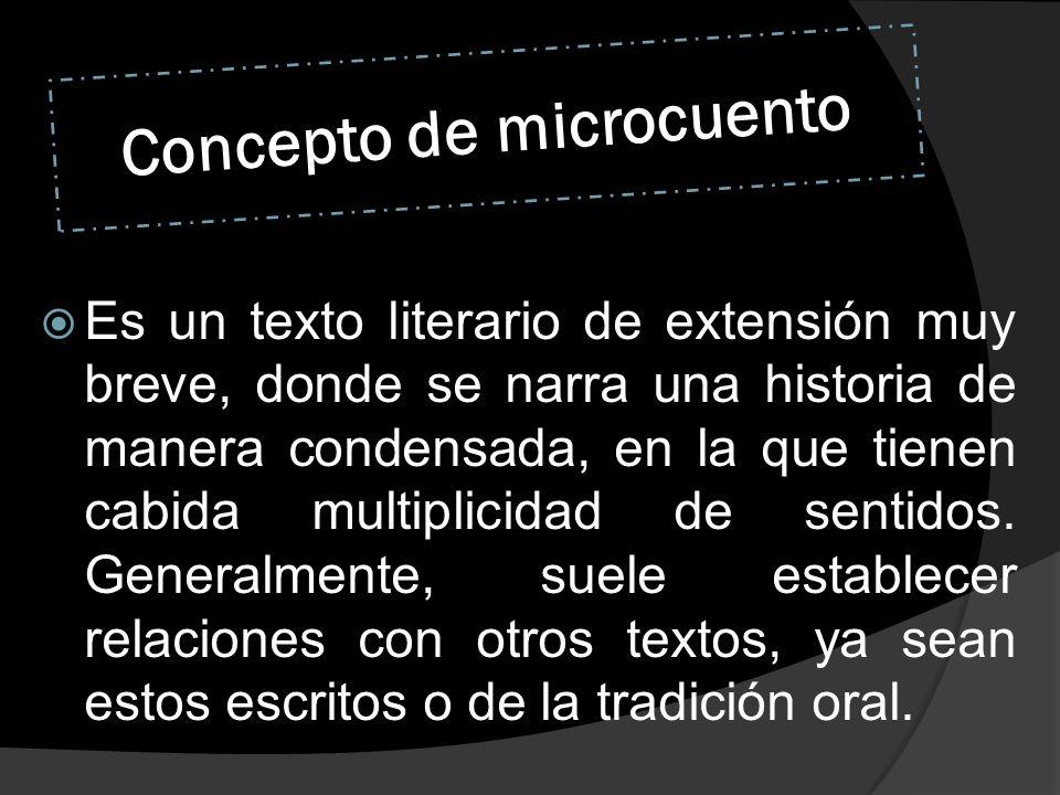 Concepto de microcuento