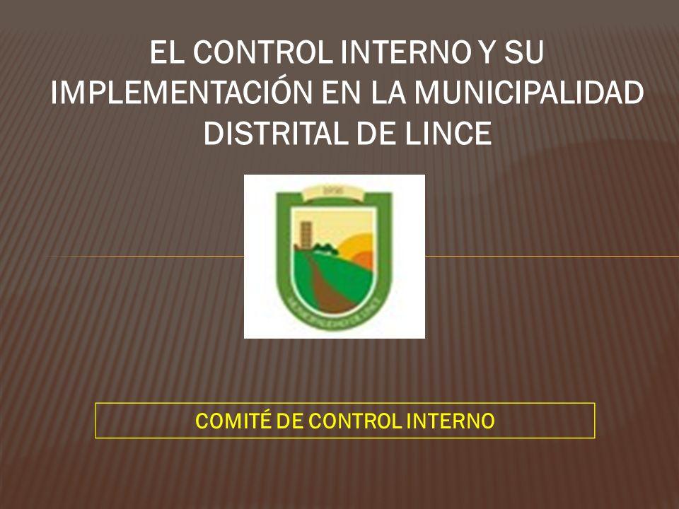 Municipalidad de Lince - Unidad de Tesoreria