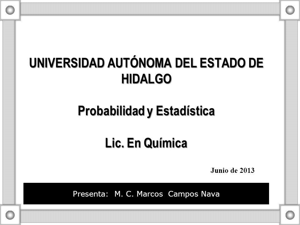 Presenta: M. C. Marcos Campos Nava