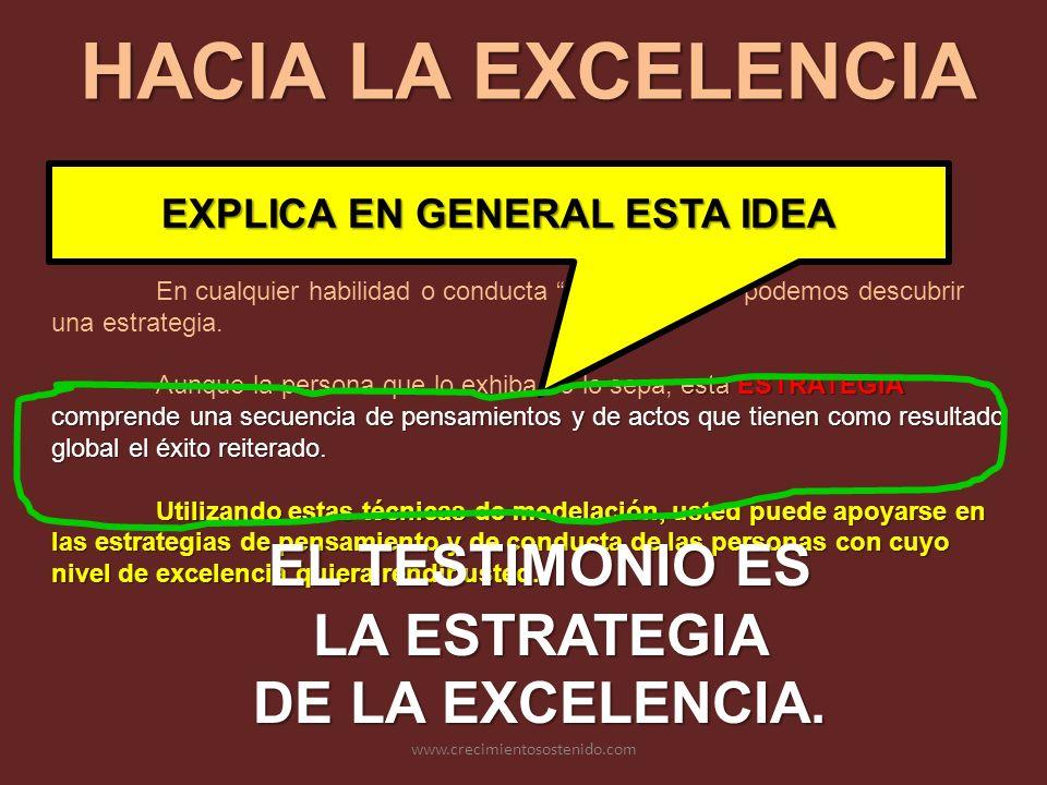 EXPLICA EN GENERAL ESTA IDEA