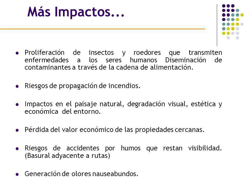 Más Impactos...