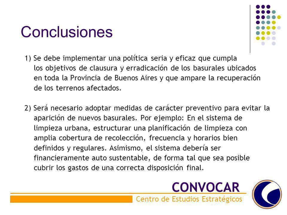 Conclusiones CONVOCAR