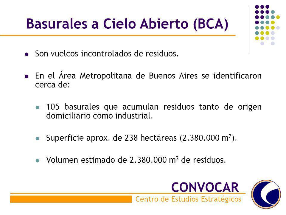 Basurales a Cielo Abierto (BCA)