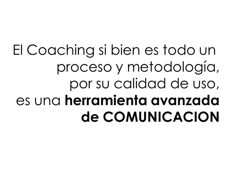El Coaching si bien es todo un