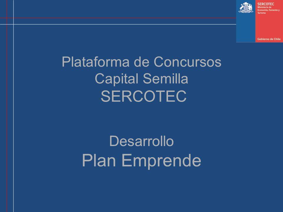 Plataforma de Concursos Capital Semilla SERCOTEC