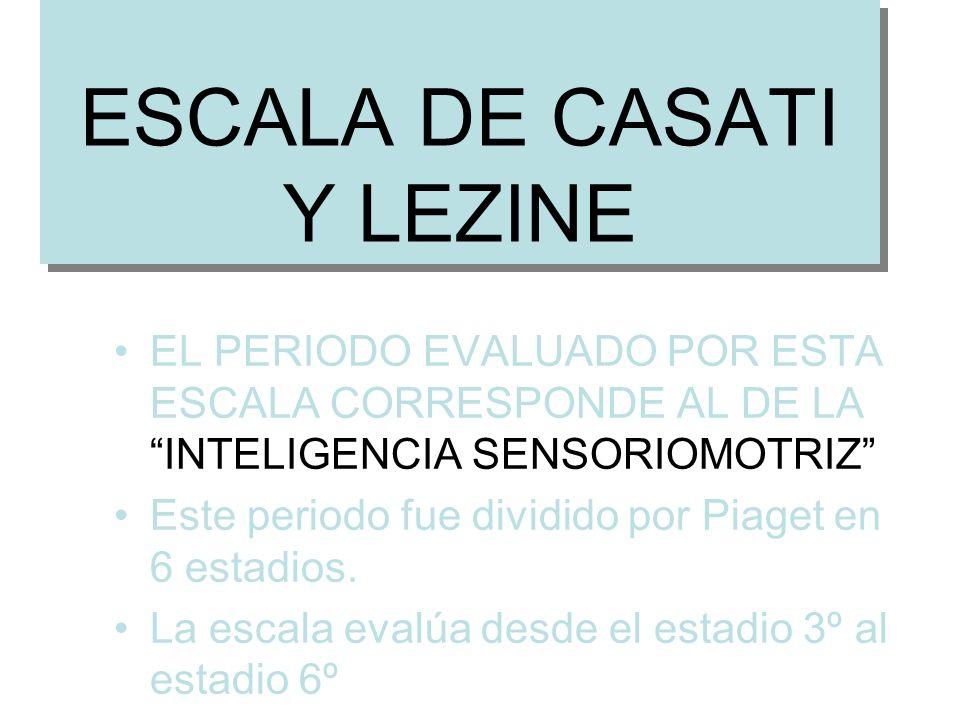 ESCALA DE CASATI Y LEZINE