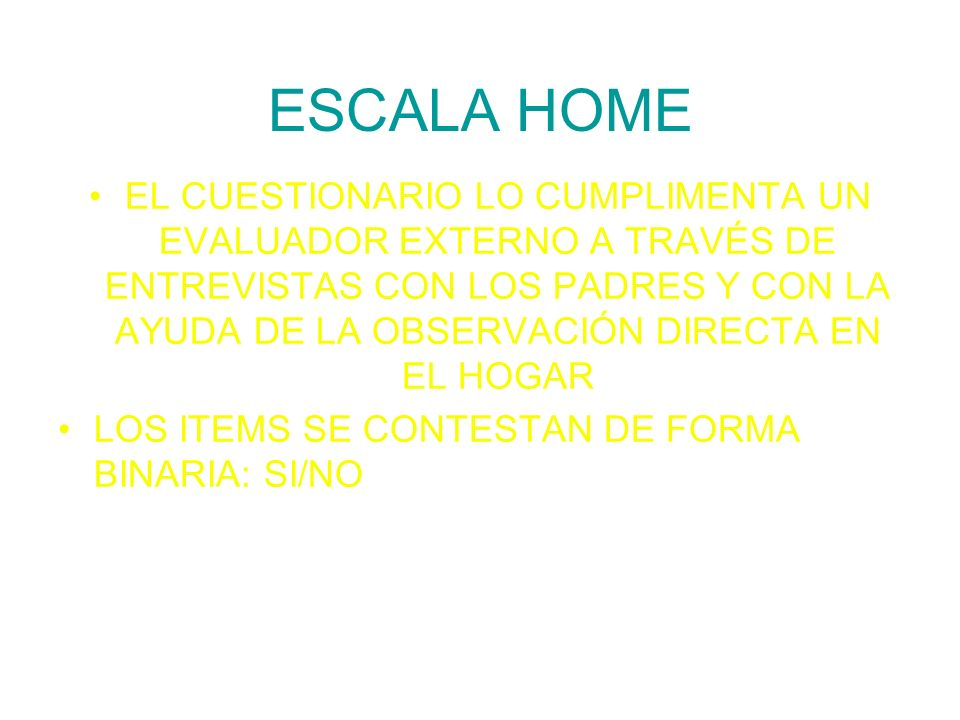 ESCALA HOME