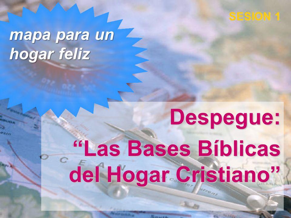 Despegue: Las Bases Bíblicas del Hogar Cristiano