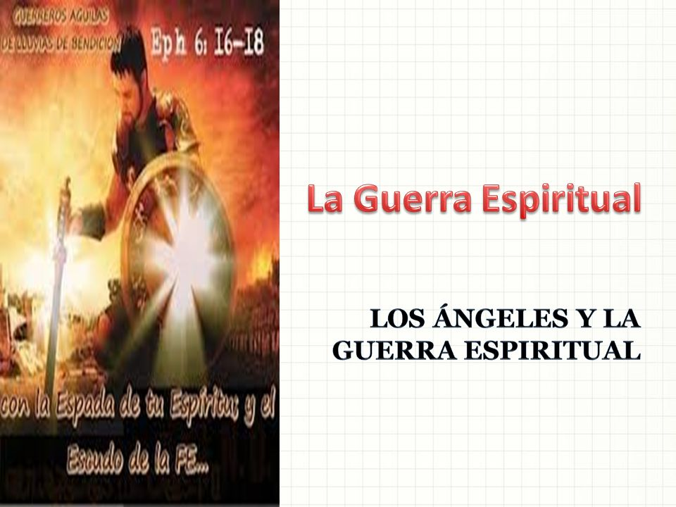 LOS ÁNGELES Y LA GUERRA ESPIRITUAL