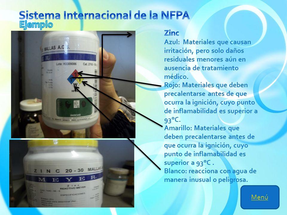 Sistema Internacional de la NFPA