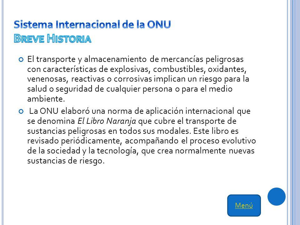 Sistema Internacional de la ONU Breve Historia