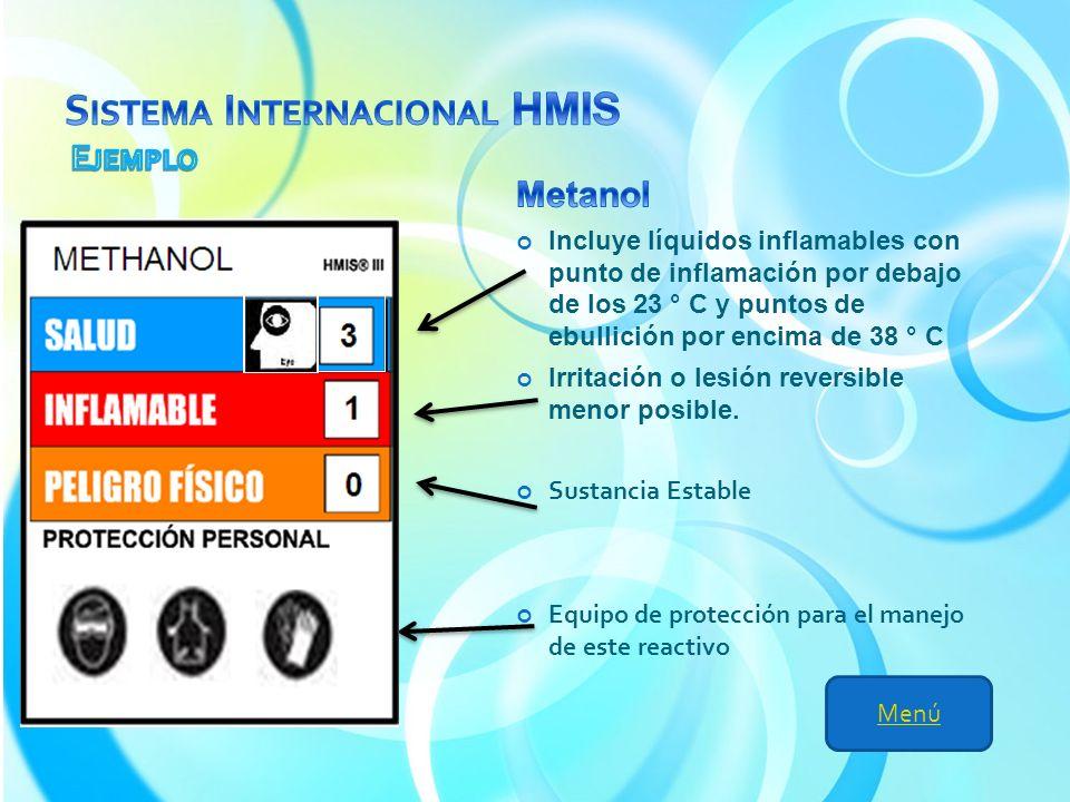 Sistema Internacional HMIS Ejemplo