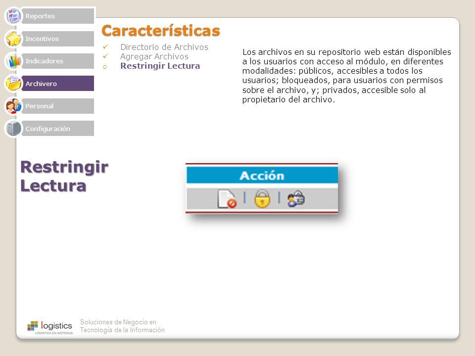 Restringir Lectura Características Directorio de Archivos