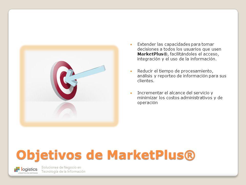 Objetivos de MarketPlus®
