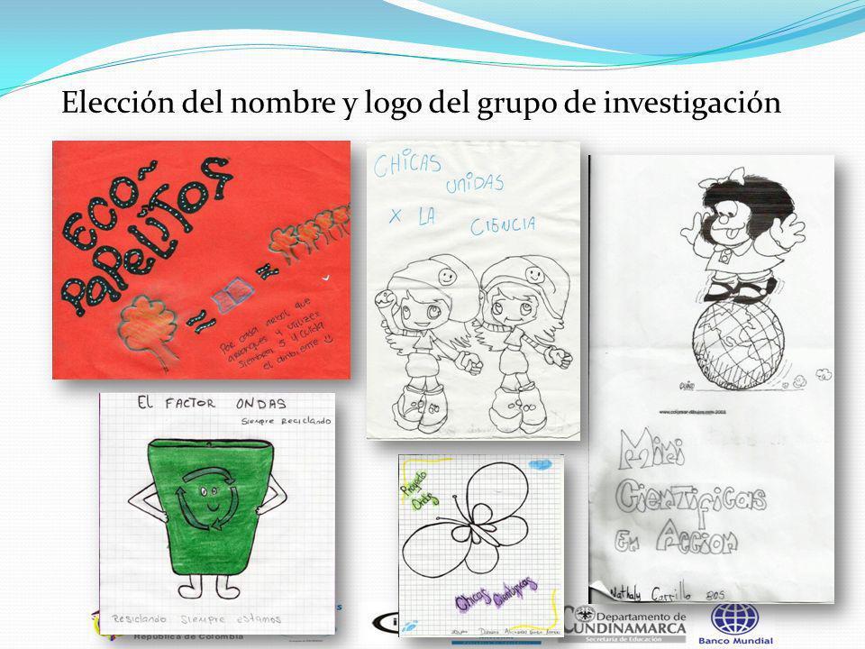 Elección del nombre y logo del grupo de investigación