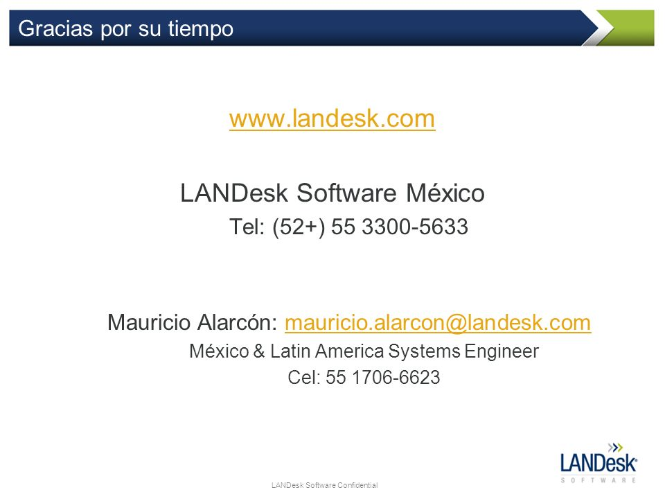 LANDesk Software México