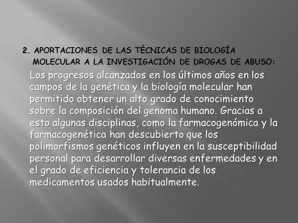 2. APORTACIONES DE LAS TÉCNICAS DE BIOLOGÍA