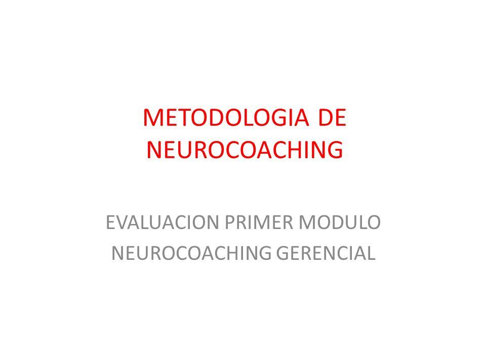 METODOLOGIA DE NEUROCOACHING