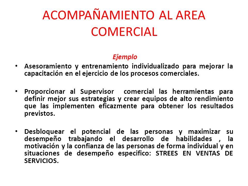ACOMPAÑAMIENTO AL AREA COMERCIAL