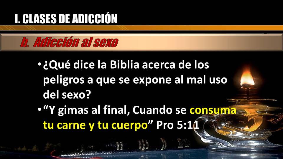 Y gimas al final, Cuando se consuma tu carne y tu cuerpo Pro 5:11