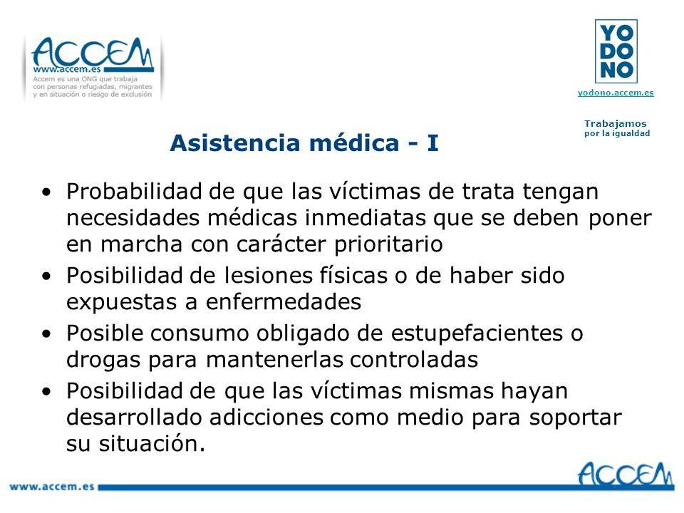 Asistencia médica - I