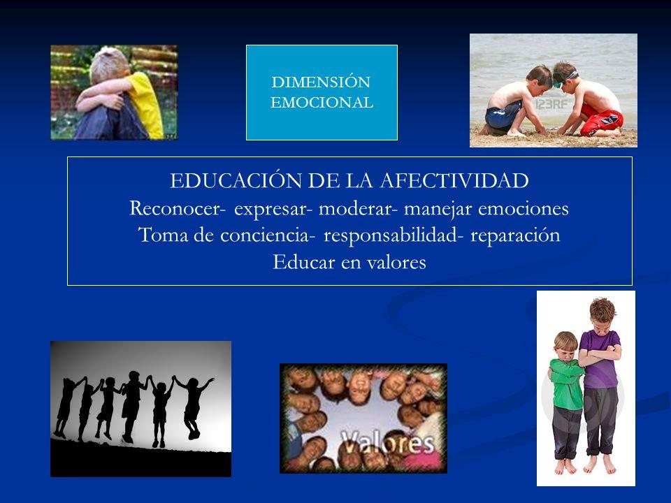 EDUCACIÓN DE LA AFECTIVIDAD