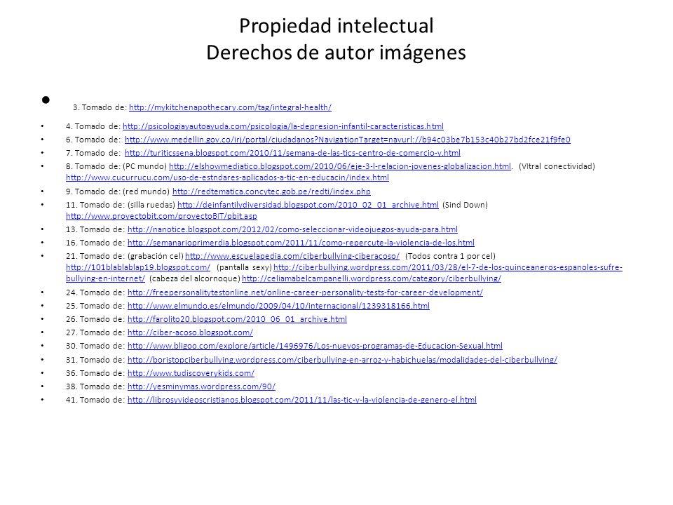Propiedad intelectual Derechos de autor imágenes