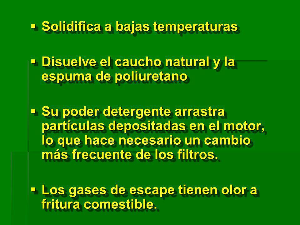 Solidifica a bajas temperaturas