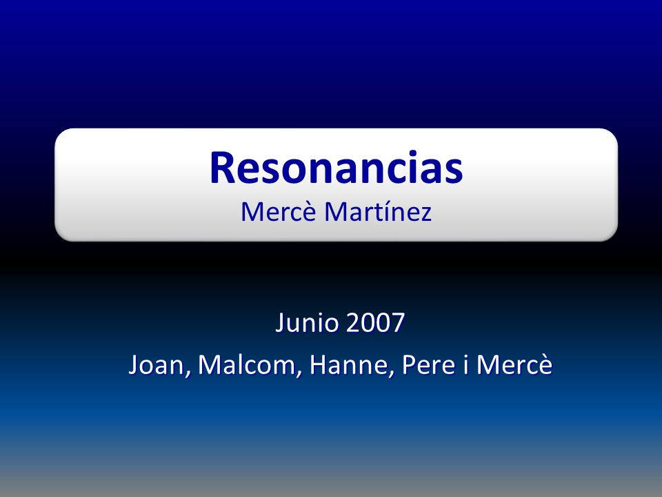 Junio 2007 Joan, Malcom, Hanne, Pere i Mercè