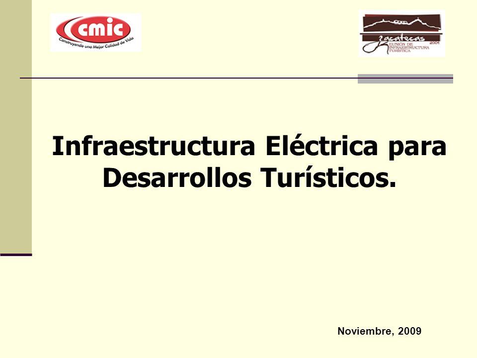 Infraestructura Eléctrica para Desarrollos Turísticos.