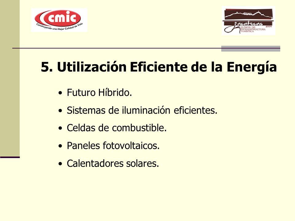 5. Utilización Eficiente de la Energía